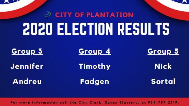 Candidates & Results | City of Plantation, Florida